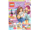 Book No: mag2015frnd09de  Name: Lego Magazine Friends 2015 Issue 9 (German)