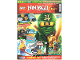 Book No: mag2015njo02de  Name: Lego Magazine Ninjago 2015 Issue 2 (German)