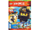 Book No: mag2015njo03pl  Name: Lego Magazine Ninjago 2015 Issue 3 (Polish)