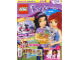 Book No: mag2016frnd03pl  Name: Lego Magazine Friends 2016 Issue 3 (Polish)