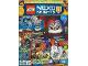 Book No: mag2016nex02fr  Name: Lego Magazine Nexo Knights 2016 Issue 2 PLUS (French)