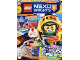 Book No: mag2017nex12pl  Name: Lego Magazine Nexo Knights 2017 Issue 12 (Polish)