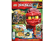Book No: mag2017njo02pl  Name: Lego Magazine Ninjago 2017 Issue 2 (Polish)