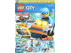 Book No: mag2018cty10de  Name: Lego Magazine City 2018 Issue 10 (German)