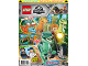 Book No: mag2018jw01nl  Name: Lego Magazine Jurassic World 2018 Issue 1 (Dutch)