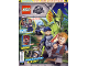 Book No: mag2018jw02pl  Name: Lego Magazine Jurassic World 2018 Issue 2 (Polish)