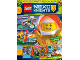 Book No: mag2018nex02nl  Name: LEGO Magazine Nexo Knights 2018 Issue 2 (Dutch)