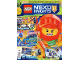 Book No: mag2018nex07pl  Name: Lego Magazine Nexo Knights 2018 Issue 7 (Polish)