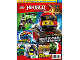 Book No: mag2018njo08nl  Name: LEGO Magazine Ninjago 2018 Issue 8 (Dutch)