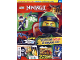 Book No: mag2018njo11pl  Name: Lego Magazine Ninjago 2018 Issue 11 (Polish)
