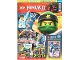 Book No: mag2018njo33de  Name: Lego Magazine Ninjago 2018 Issue 33 (German)