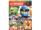 Book No: mag2018njo34de  Name: Lego Magazine Ninjago 2018 Issue 34 (German)