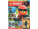 Book No: mag2018njo35de  Name: Lego Magazine Ninjago 2018 Issue 35 (German)