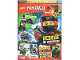 Book No: mag2018njo40de  Name: Lego Magazine Ninjago 2018 Issue 40 (German)