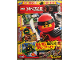 Book No: mag2018njox01de  Name: Lego Magazine Ninjago 2018 XXL Issue 1 (German)