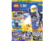 Book No: mag2019cty04de  Name: Lego Magazine City 2019 Issue 4 (German)