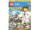 Book No: mag2019cty08de  Name: Lego Magazine City 2019 Issue 8 (German)