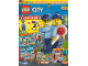 Book No: mag2019cty10de  Name: Lego Magazine City 2019 Issue 10 (German)