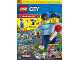 Book No: mag2019cty10nl  Name: Lego Magazine City 2019 Issue 10 (Dutch)