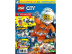 Book No: mag2019cty11nl  Name: Lego Magazine City 2019 Issue 11 (Dutch)