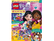 Book No: mag2019frnd10nl  Name: Lego Magazine Friends 2019 Issue 10 (Dutch)