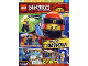 Book No: mag2019njo01pl  Name: Lego Magazine Ninjago 2019 Issue 1 (Polish)