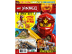 Book No: mag2019njo10nl  Name: Lego Magazine Ninjago 2019 Issue 10 (Dutch)