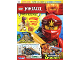 Book No: mag2019njo10pl  Name: Lego Magazine Ninjago 2019 Issue 10 (Polish)