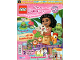 Book No: mag2020dp08pl  Name: Lego Magazine Disney Princess 2020 Issue 8 (Polish)