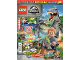 Book No: mag2020jw03pl  Name: Lego Magazine Jurassic World 2020 Issue 3 (Polish)