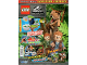 Book No: mag2020jw04pl  Name: Lego Magazine Jurassic World 2020 Issue 4 (Polish)