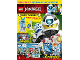 Book No: mag2020njo04nl  Name: Lego Magazine Ninjago 2020 Issue 4 (Dutch)