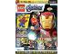 Book No: mag2020shav01pl  Name: Lego Magazine Avengers 2020 Issue 1 (Polish)
