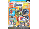 Book No: mag2020shav02de  Name: Lego Magazine Avengers 2020 Issue 2 (German)