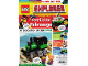 Book No: mag2021ex03de  Name: Lego Magazine Explorer 2021 Issue 3 (German)