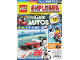Book No: mag2021ex08de  Name: Lego Magazine Explorer 2021 Issue 8 (German)