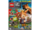 Book No: mag2021jw01nl  Name: Lego Magazine Jurassic World 2021 Issue 1 (Dutch)