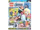 Book No: mag2021shav06de  Name: Lego Magazine Avengers 2021 Issue 6 (German)