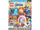 Book No: mag2021shav07de  Name: Lego Magazine Avengers 2021 Issue 7 (German)