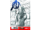 Book No: mc3a  Name: Super Heroes Comic Book, Marvel, Avengers A.I. #4 Sketch Variant Cover