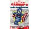Book No: mc4  Name: Super Heroes Comic Book, Marvel, Captain America #12 Variant Cover