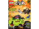 Book No: wc12de1  Name: Lego Club Magazin (German) 2012 Issue 1