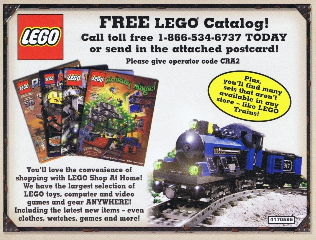 BrickLink - Catalog 4170586 : Lego 2002 Insert - Shop at Home ...