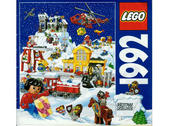 BrickLink - Catalog c92uk2 : Lego 1992 Large UK Christmas