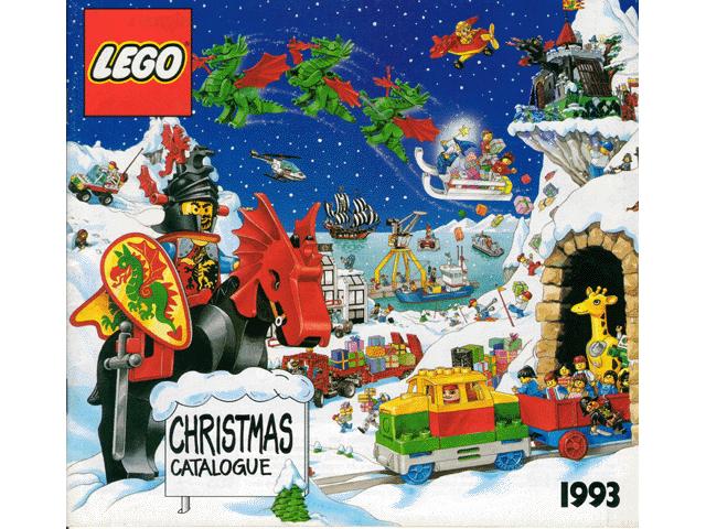 BrickLink - Catalog c93uk : Lego 1993 Large UK Christmas Edition