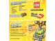 Catalog No: 25106294-BE-NL  Name: 2014 Insert - Lego Club - MAGISCHE KAART (25106294_BE-NL)