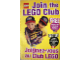 Catalog No: 4103362  Name: 1996 Insert - LEGO Club - US/Canadian (4103362)