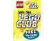 Catalog No: 4151442  Name: 2001 Insert - LEGO Club - US/Canadian (4151442)