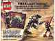 Catalog No: 4172392  Name: 2002 Insert - Shop at Home - Bionicle (4172392)