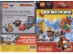 Catalog No: c11cars1  Name: 2011 Insert - LEGO Cars 2 - 'Doe mee en win!' (contest Kruidvat) (600_3630)